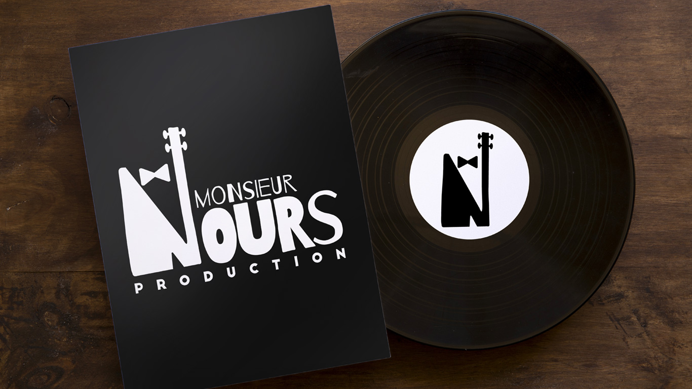 Monsieur Nours Production, logo créé par Juwlius !